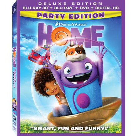 Home  Party Edition   3D Blu Ray   Blu Ray   Dvd   Digital Hd   With Instawatch