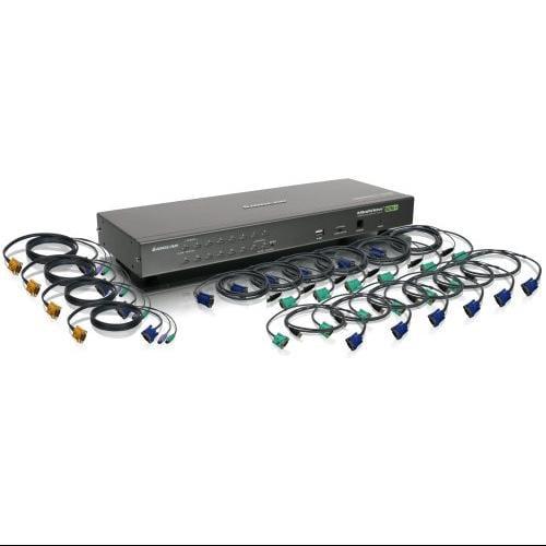 Io Gear Gcs1716kit 16-port Usb Ps/2 Kvm/switch
