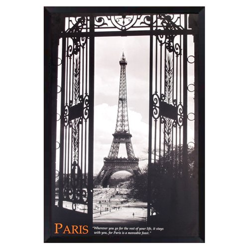 PTM Images Paris Framed Photographic Print