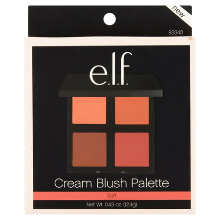 e.l.f. Cream Blush Palette Soft, .43 (Multi Blush Compact)