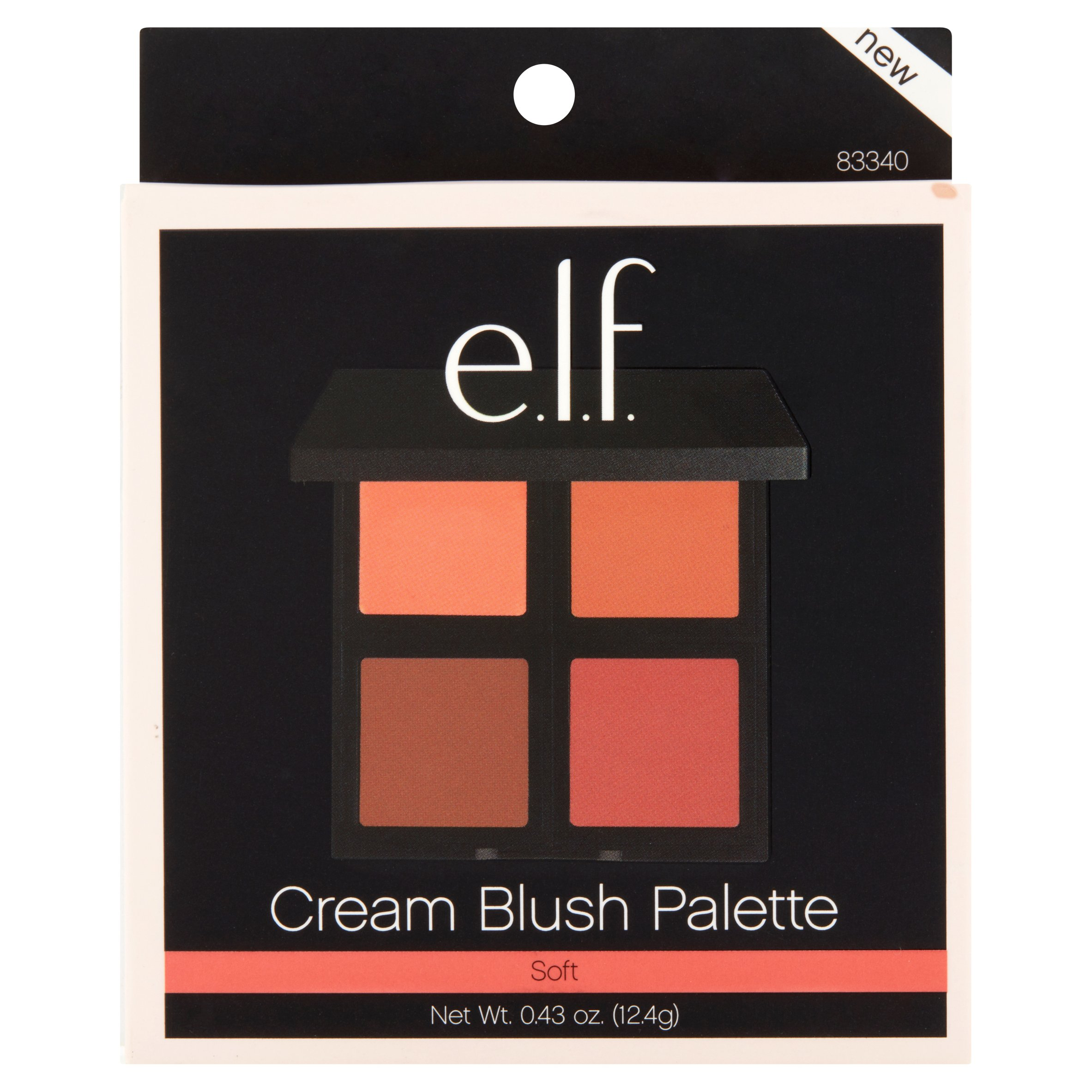 e.l.f. Cream Blush Palette Soft, .43 oz