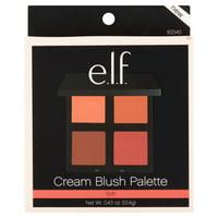 e.l.f. Cream Blush Palette Soft, .43 oz