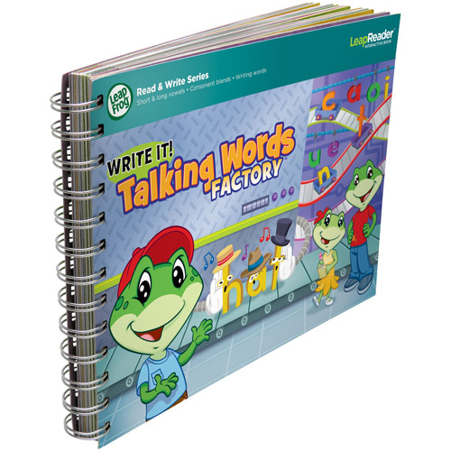 LeapFrog LeapReader Writing Workbook, Write it! Talking Words Factory