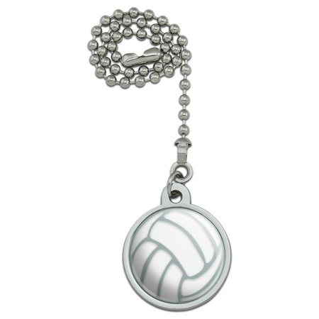 Volleyball Ball Ceiling Fan and Light Pull Chain - Ceiling Ball Decorations