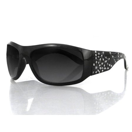 Bobster Eyewear Vixen Highway Honey; Sunglass, Blk, Spiderweb W/ Rhin