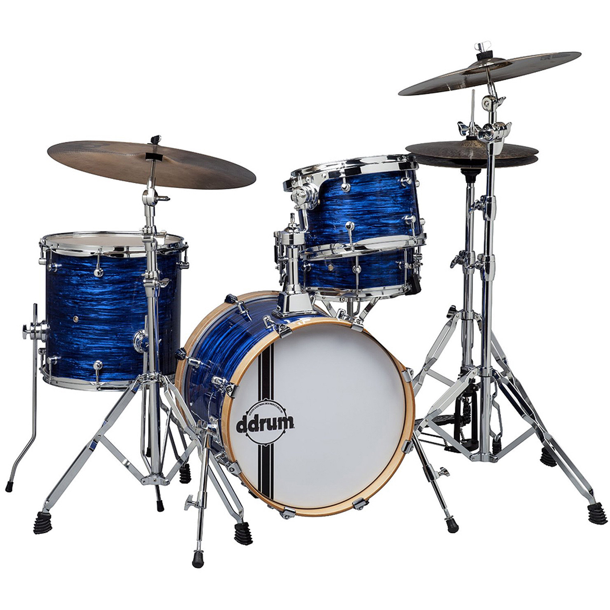 ddrum SE Flyer Bop Kit 4-Piece Shell Pack Blue Pearl by ddrum