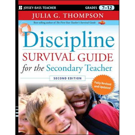 Discipline Survival Guide for the Secondary Teacher, Grades - Halloween Survival Kit For Teachers