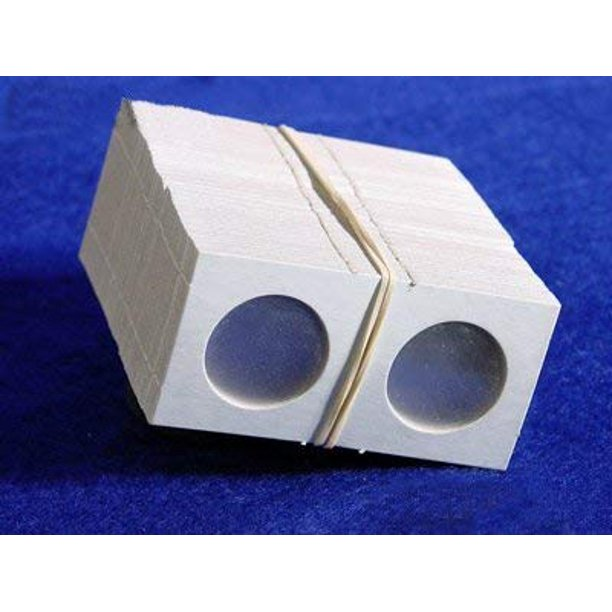 cardboard quarter coin holders