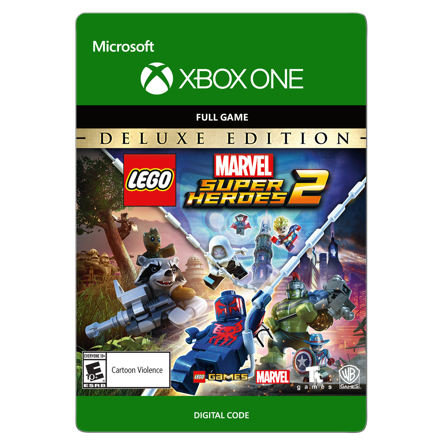 LEGO Marvel Super Heroes 2: Deluxe Edition Xbox One (Email Delivery)