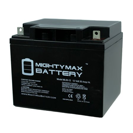 12V 50AH Replacement Battery for Heartway Maxx P3DRT