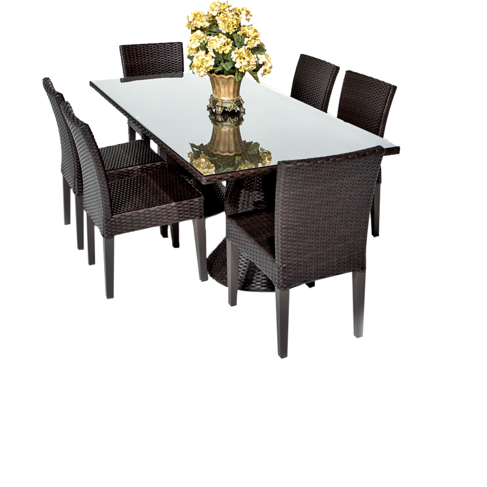 Saturn Outdoor Dining Table & Chairs - Garden Patio Sets