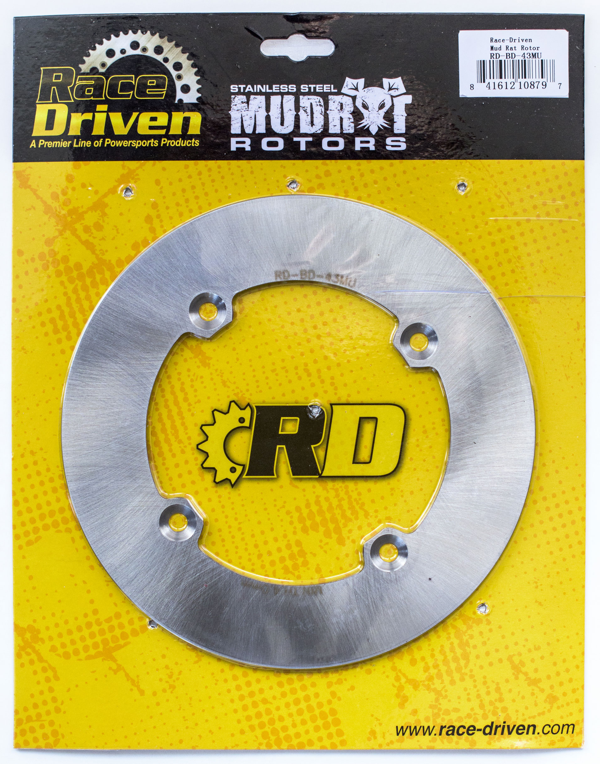 2013-2017 fits Can-Am Commander DPS 800R Front /& Rear RipTide Brake Rotor Discs