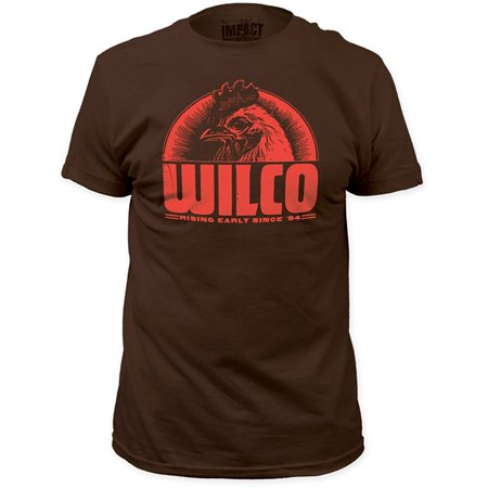 - WILCO Band Rising Early Since 1994 Rooster Slim Fit T-Shirt