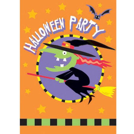 Trick or Treat Halloween Invitations, 8 Count (Halloween Movie Party Invitation Wording)