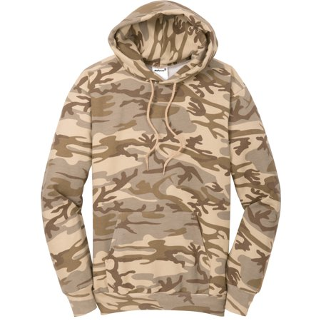 Mafoose Men's Core Fleece Classic Camo Pullover Hooded Sweatshirt Desert Camo S Camo Hooded Pullover
