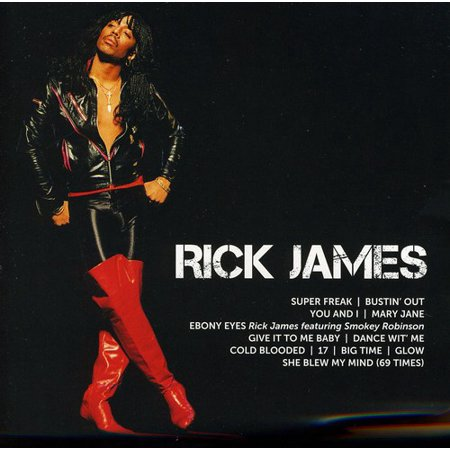 Rick James - Icon Series: Rick James (James Dean American Icon)