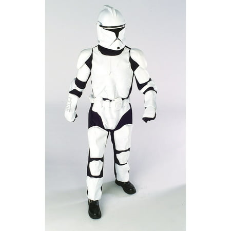 Star Wars Boys Deluxe Clone Trooper Costume](Star Wars Clone Wars Costumes)