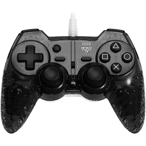 Hori PS3 Wired Gem Pad Controller, Onyx