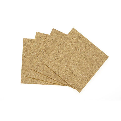 Cork Tile - 5mm x 12 x 12 inches - 4 pieces