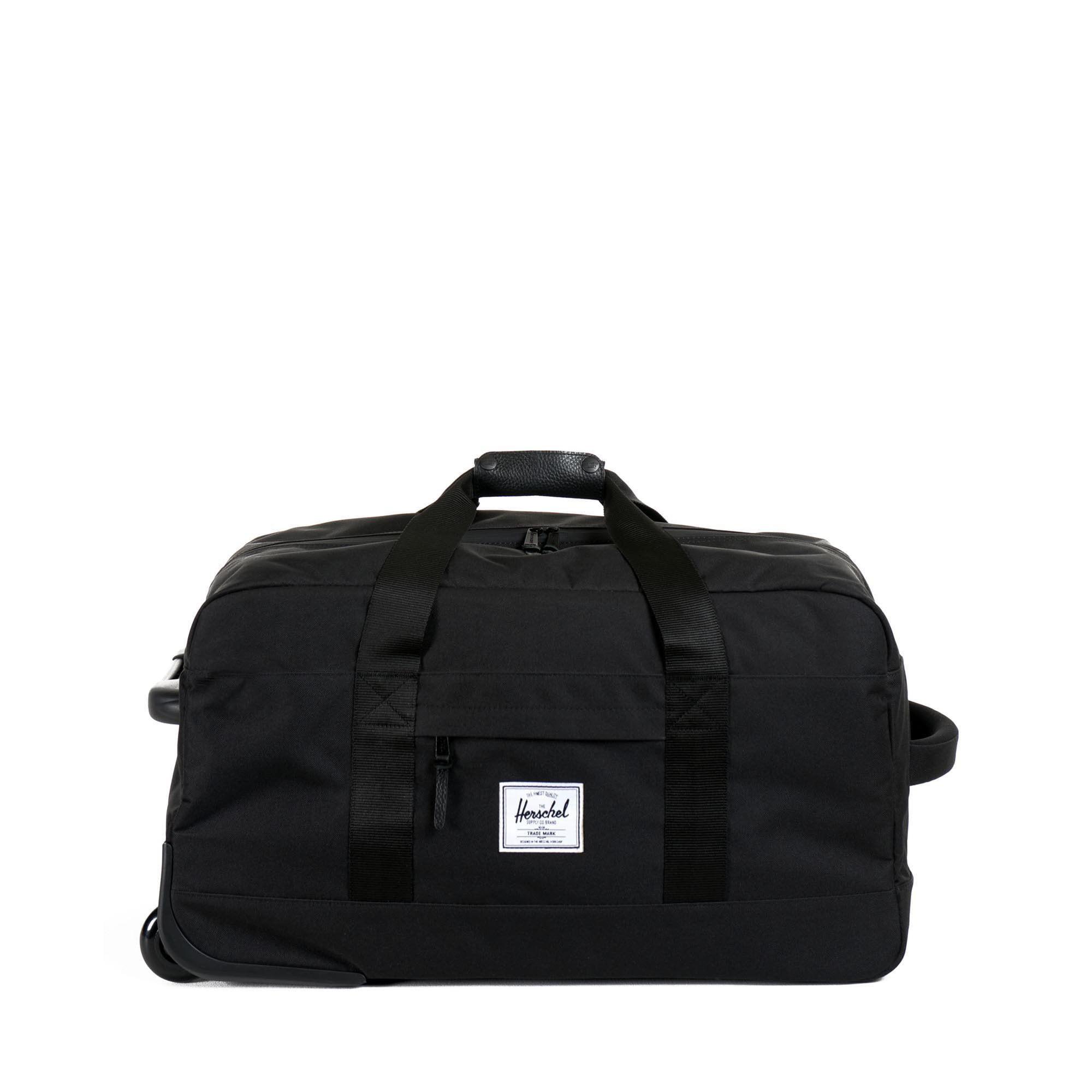 Herschel Outfitter Wheelie Duffle Bag Black One Size