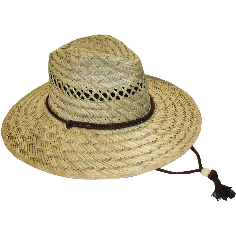 Mens Outdoor Work and Garden Straw Hat