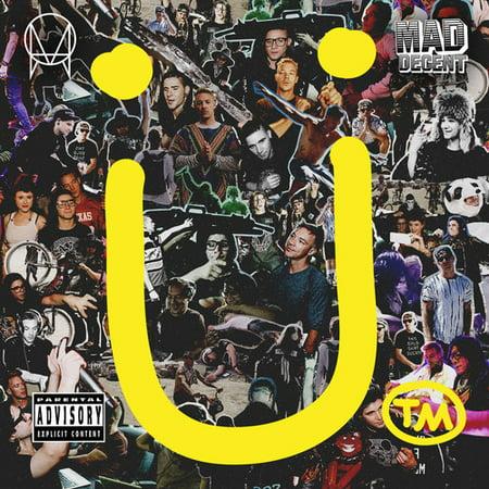 Skrillex & Diplo Present Jack U (CD) (explicit)