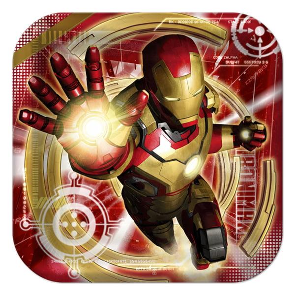 Iron Man 3 Large Paper Plates (8ct)