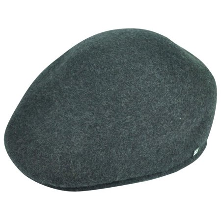 Large Classic Wool - Block Headwear Newsboy Brand Gatsby Cabbie Classic Wool Grey Fitted Large Hat