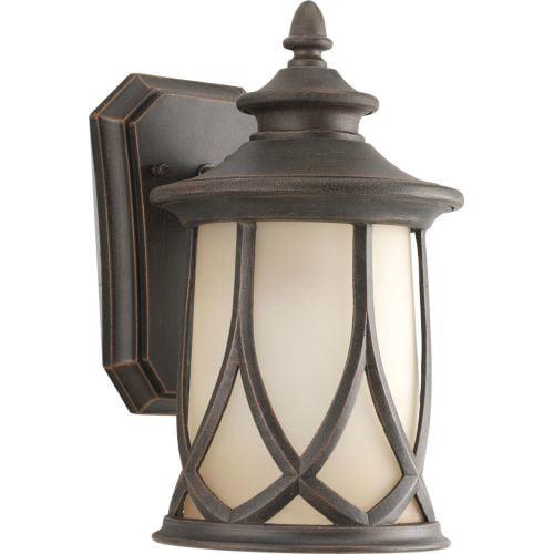 Progress Lighting P5987-122 Resort Collection 1-Light Wall Lantern, Aged Copper [aged copper]