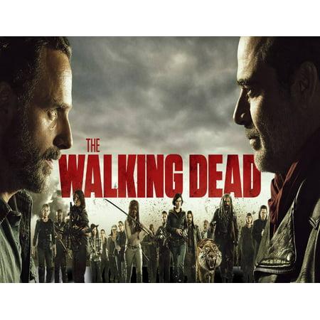 The Walking Dead Season 8 Cast Edible Frosting Image  1/4 sheet - Walking Dead Cakes