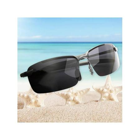 929f73a6ba Male Fashion Black-Rimmed Polarized Sunglasses Sports Outdoor Driving  Eyewear Glasses - Walmart.com