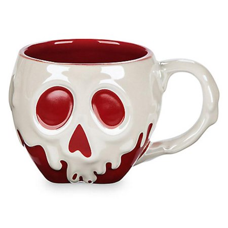 Disney Store Snow White Poisoned Apple Sculptured Mug New with Box
