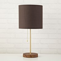 Table lamps walmart urban shop metallic stick lamp brown multiple colors aloadofball Image collections