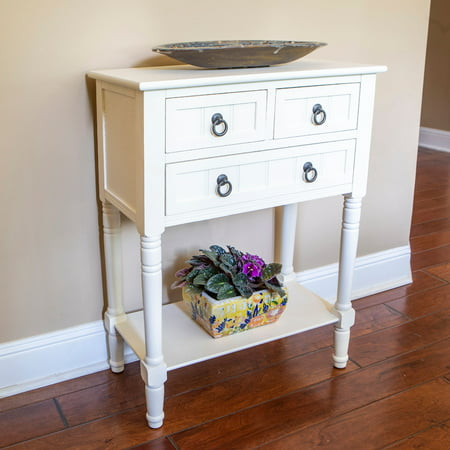Blue Console - Westerman 3 Drawer Console