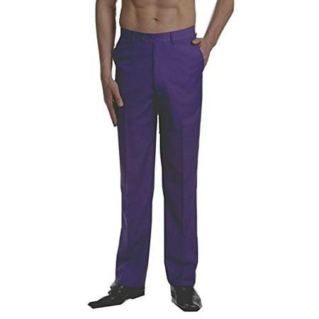 9b8d5d3212 RALPH LAUREN - New RALPH LAUREN Purple Solid Linen New Men s Dress ...