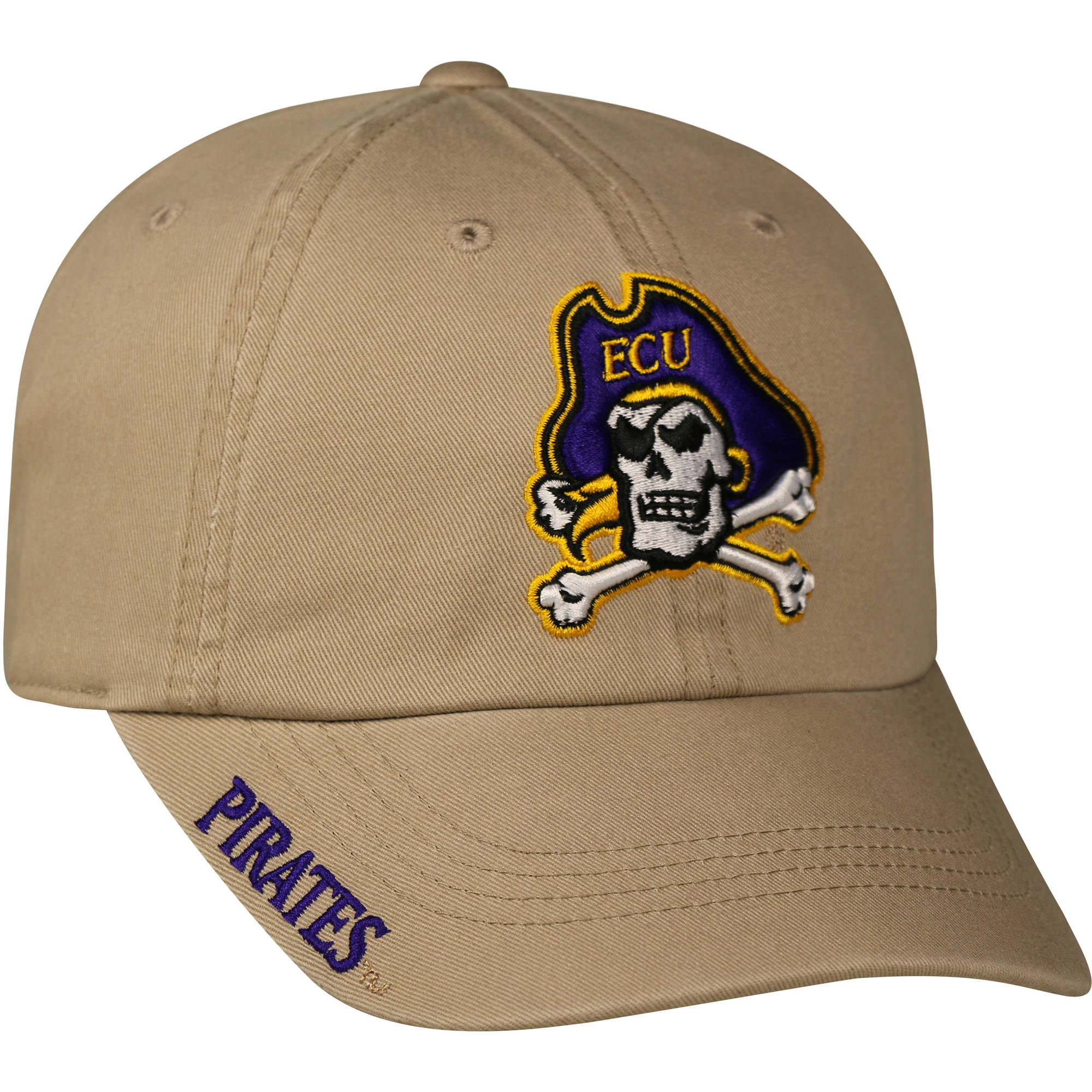 NCAA Men's East Carolina Pirates Khaki Cap