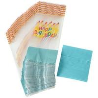 Wilton Happy Birthday Treat Bags, 30-Count