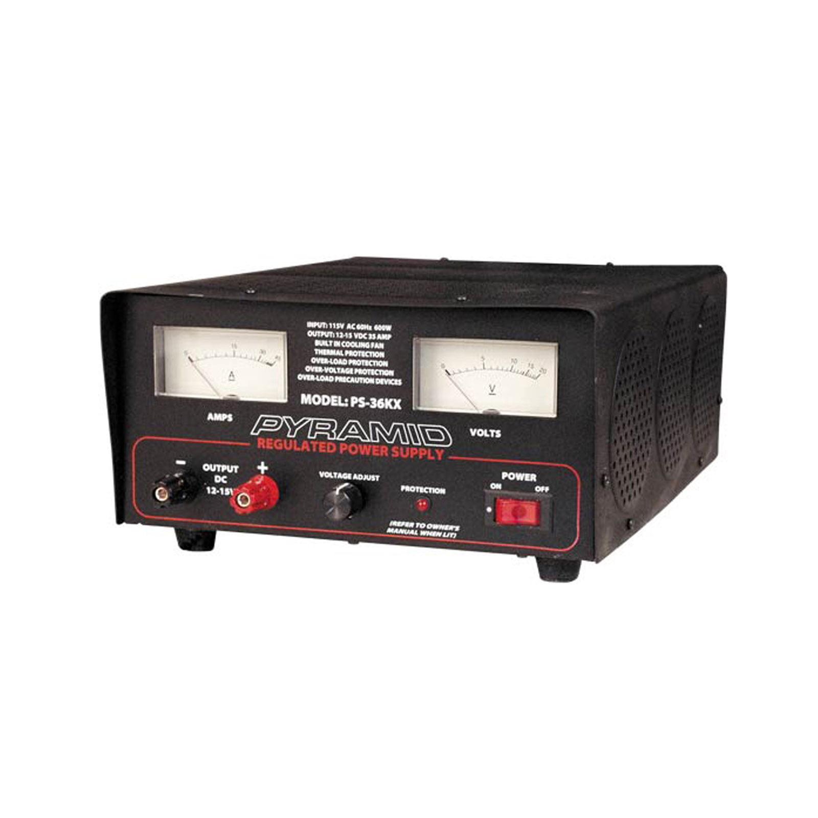 Pyramid 32 Amp Adjustable Power Supply