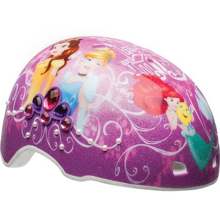 Bell Disney Princess Gems and Pearls Multisport Helmet, Purple, Child 5+ (50-54cm) (Disney Frozen Helmet)