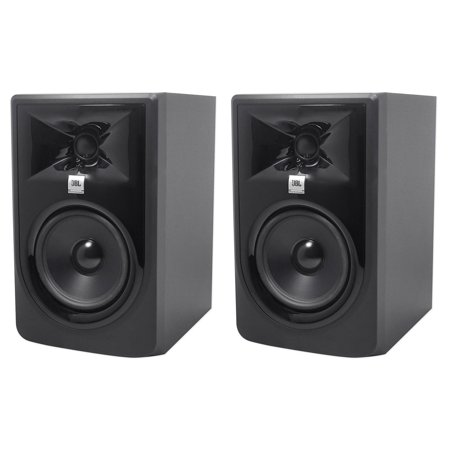 "Pair JBL 305PMKII 5"" Gaming Twitch Streaming Computer Speakers Monitors"