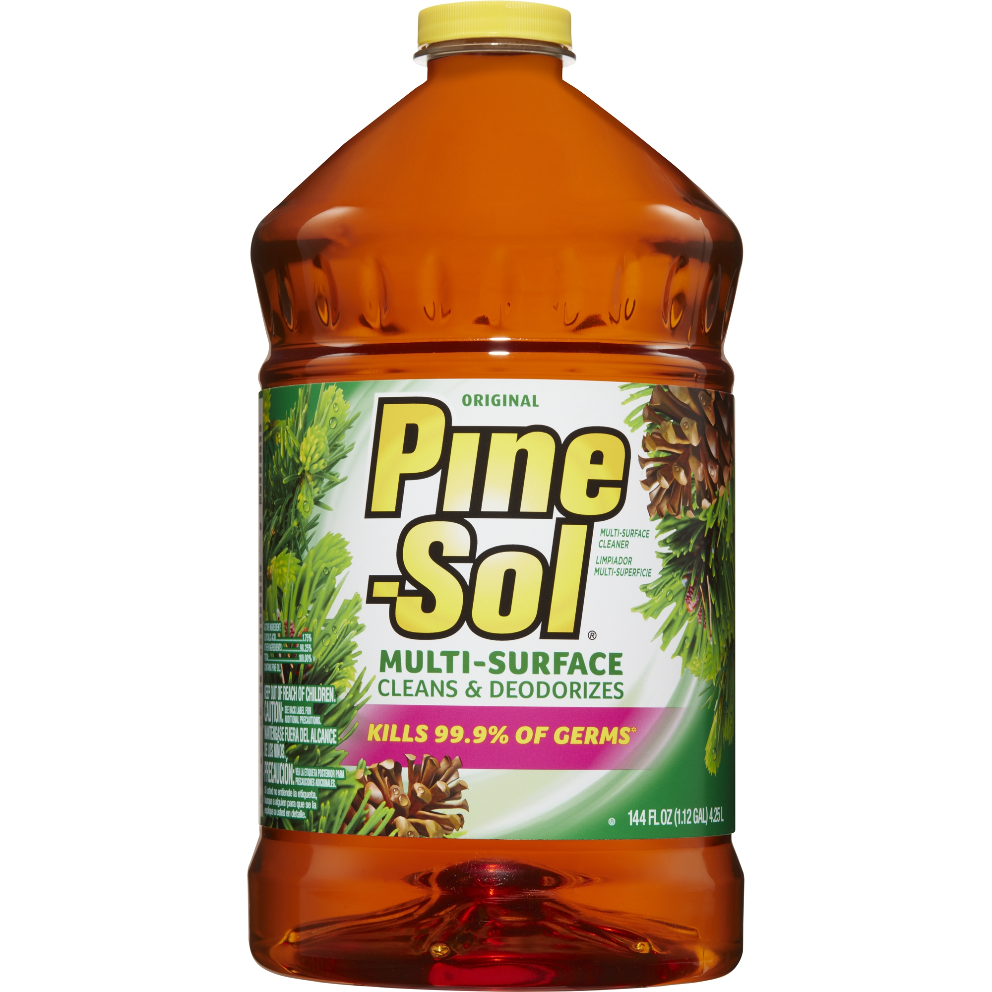 Pine-Sol Multi-Surface Cleaner, Original, 144 oz Bottle