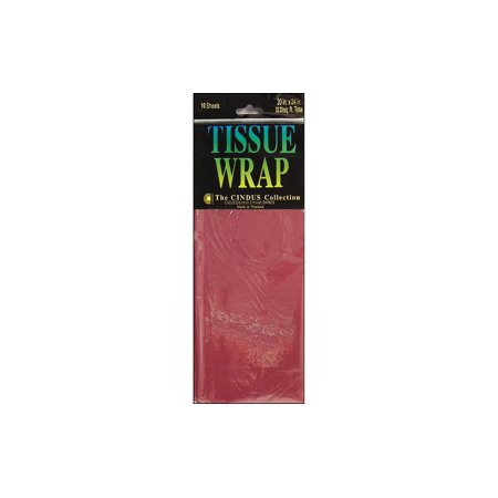 Cindus Tissue Wrap 20x20 10pc Solid