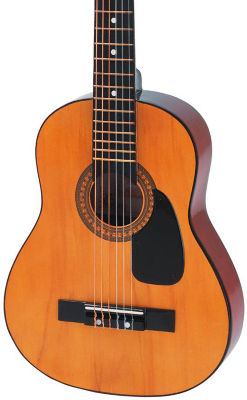 HAG-250P 1 2-Size Parlor Acoustic Guitar Natural by Hohner