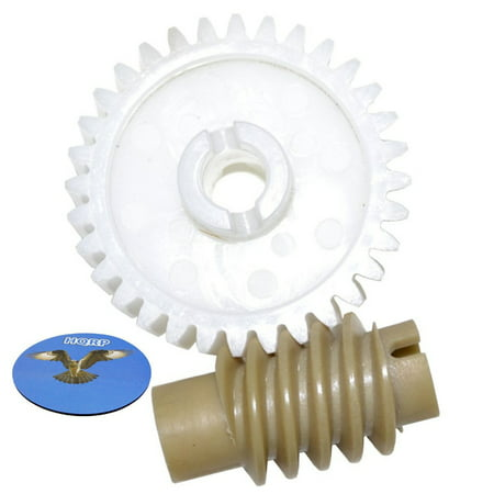 Hqrp Drive And Worm Gear Kit For Craftsman 13953966srt1