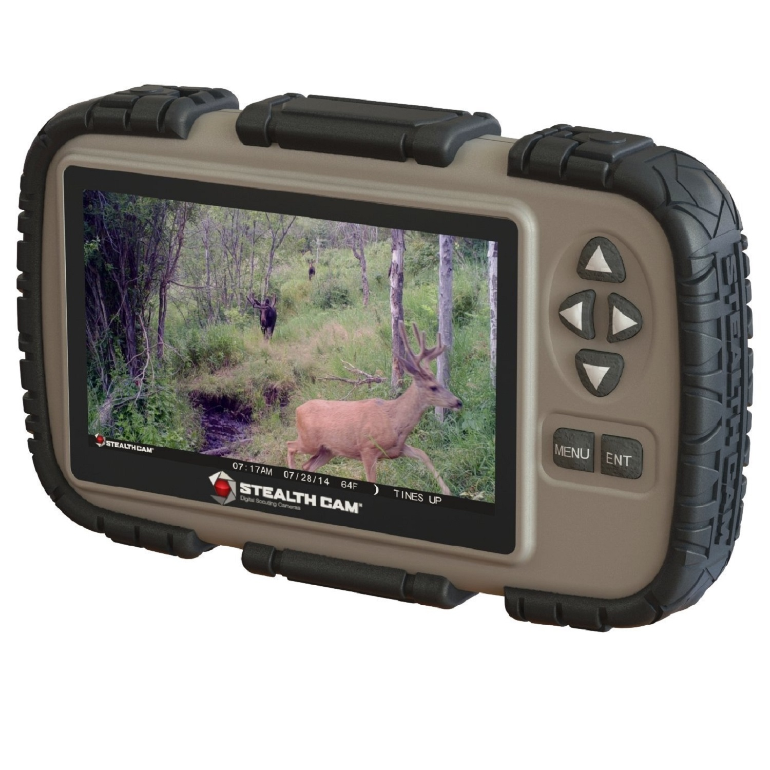 Stealth Cam SD Card Reader and Viewer with 4 3