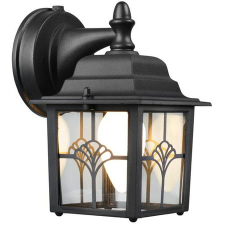 Brinks augustine lantern dusk to dawn activated outdoor security brinks augustine lantern dusk to dawn activated outdoor security lighting matte black aloadofball Image collections