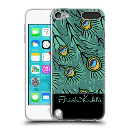 OFFICIAL FRIDA KAHLO PEACOCK SOFT GEL CASE FOR APPLE IPOD TOUCH MP3