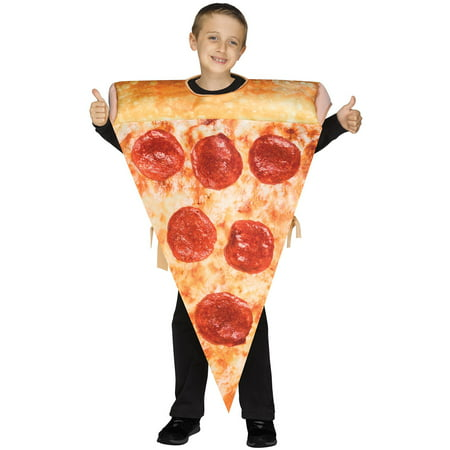 Yummy Pizza Slice Child Costume](Diy Pizza Costume)