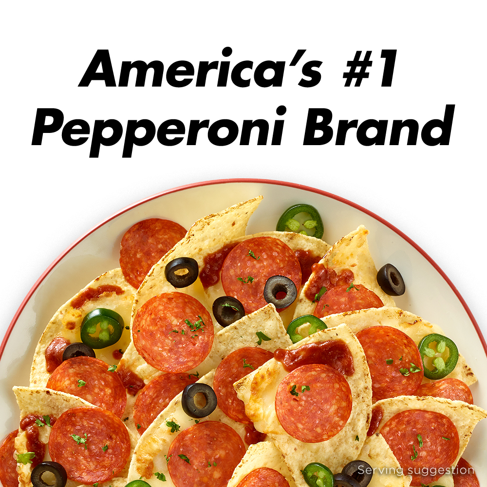 Hormel 70% Less Fat Turkey Pepperoni, 5