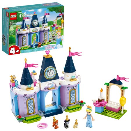 LEGO Disney Cinderella's Castle Celebration Princess Building Playset 43178